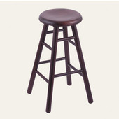 Holland Stoutmeister Commercial Maple Saddle Dish Seat Bar Stool, Different Finishes Available, 36''