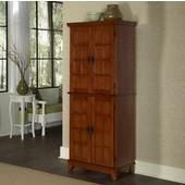 Arts & Crafts Pantry, Cottage Oak, 30''W x 16-1/4''D x 72-1/2''H