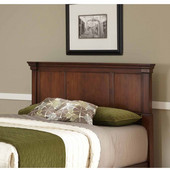 The Aspen Collection Queen/Full Headboard, Rustic Cherry, 66''W x 4-1/2''D x 52''H