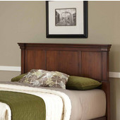 The Aspen Collection King/California King Headboard, Rustic Cherry, 82''W x 4-1/4''D x 52''H