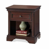 Lafayette Night Stand, Rich Cherry, 22''W x 16''D x 24''H