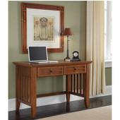 Arts & Crafts Student Desk, Cottage Oak, 42''W x 24''D x 30''H