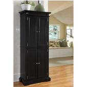 Americana Kitchen Pantry, Black, 29-3/4'W x 14-3/4'D x 72'H
