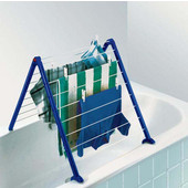 Pegasus V Bathtub Drying Rack, 36 Feet of Drying Space, 26'' W x 33-1/2'' D x 16'' H