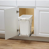 Pull Out Built In Trash Cans Cabinet Slide Under