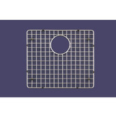 WireCraft Bottom Grid, Stainless Steel, 22-1/8''W x 16-3/8''D x 5/8''H, Fits BCS-2522