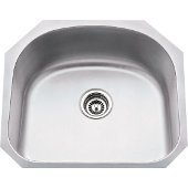 23-1/4'' Wide 18 Gauge 304 Stainless Steel Large Utility Sink, 23-1/4'' W x 20-7/8'' D x 9'' H