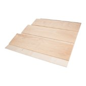 15-1/4'' W Spice Tray Organizer for Drawers, White Birch with UV Coated Finish
