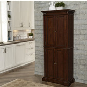 Americana Kitchen Pantry, Cherry, 29-3/4'W x 14-3/4'D x 72'H
