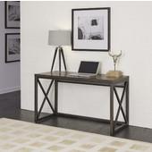 Xcel Office Desk, Copper Finish, 54''W x 18''D x 31''H
