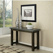 Concrete Chic Console Table, Brown/Gray, 48'' W x 16'' D x 28'' H