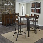 Cabin Creek 3-Piece Bistro Table Set