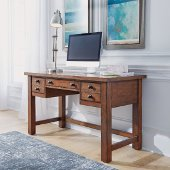 Tahoe Executive Writing Desk in Aged Maple, 54'' W x 23-3/4'' D x 30'' H