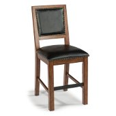 Tahoe Counter Stool in Aged Maple, 18-1/2'' W x 23-1/4'' D x 42'' H, Seat Height: 24'' H