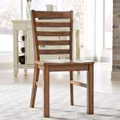 Sedona Pair of Dining Chairs In Toffee, 18''W x 22''D x 38-1/4''H