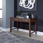 Bungalow Student Desk, Medium Brown, 46''W x 24''D x 30-1/2''H