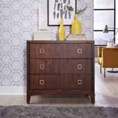 Bungalow Drawer Chest, Medium Brown, 39''W x 18''D x 36''H