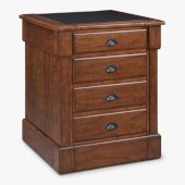 Aspen Collection Storage Island in Rustic Cherry, 30'' W x 30-1/2'' D x 36-1/4'' H