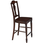 Country Comfort Counter Stool, Aged Bourbon, 18''W x 22-1/2''D x 46-1/4''H