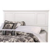 Naples White King Headboard, 80-3/4'' W x 2-1/2'' D x 52'' H