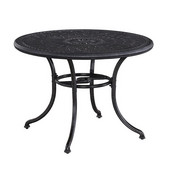 Athens 42'' Round Dining Table in Antique Charcoal, 42-1/4'' Diameter x 29'' H
