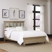 Visions Queen or King Bed in Silver/Gold Champagne