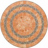 Terra Cotta Bistro Table, 27-1/2''W x  27-1/2''D x  30''H