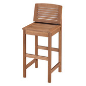 Bali Hai Collection 17-3/4'' Bar Stool in Eucalyptus, 17-3/4'' W x 20'' D x 41'' H