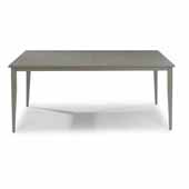 Daytona Rectangular Outdoor Dining Table, Grey, 71''W x 40''D x 28-3/4''H