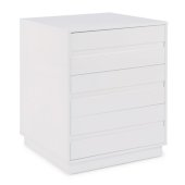 Linear Collection Storage Island Unit in White, 30'' W x 30'' D x 36-1/4'' H