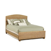 Cabana Banana Queen Bed Set, Honey Oak