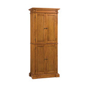 Wood Pantry, 30''W x 16''D x 72''H, Oak