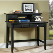 Bedford Student Desk, Ebony Finish, 42'' W x 24'' D x 30'' H