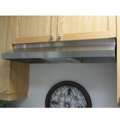 Classic Economy 24'' Under Cabinet Mount Rangehood, 190 CFM, Stainless Steel, Available in Multiple Sizes