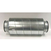 Silencer with 8'' or 10'' Opening Available, Reduces Noise from Range Hood