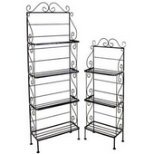 Wrought Iron Baker's Racks