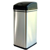 Deodorizer 13 Gallon Stainless Steel Automatic Touchless Trash Can with Carbon Filter Technology