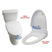 Touch-Free Toilet Seats