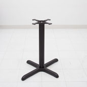 Cast Iron Table Base for Oblong Table Widths, Dining Height