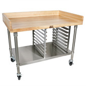 Maple Top Bakery Preparation Table, Different Sizes Available