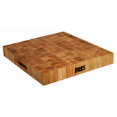 Chopping Block Collection Reversible 18'' L x 18'' W x 2-1/4'' with Grips, Maple End Grain