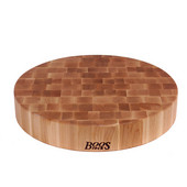 3'' Thick Round Chinese Chopping Block