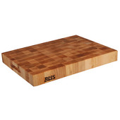Chopping Block Collection Reversible 20'' L x 15'' W x 2-1/4'' with Grips, Maple End Grain