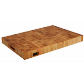 Chopping Block Collection Reversible 24'' L x 18'' W x 2-1/4'' with Grips, Maple End Grain