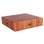 Cucina Laforza Cherry Butcher Block Top, 24'' W x 24'' D x 6''H