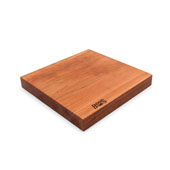 American Cherry Rustic-Edge Design Reversible Cutting Board, 13''W x 12''D x 1-3/4''H