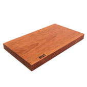 American Cherry Rustic-Edge Design Reversible Cutting Board, 21''W x 12''D x 1-3/4''H