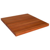 Ultra Premium 1-1/2'' Thick American Cherry Edge Grain Butcher Block Island Countertop 121'' W x 30'' D, Varnique Finish