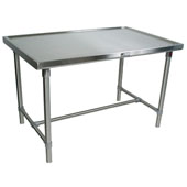 Cucina Mariner Table,  Stainless Steel, Different Sizes Available