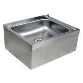 Mop Sink, 16 Gauge Stainless Steel, 24-5/8''W x 19-1/8''D